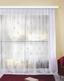 Függöny Andrea - Fehér, konvencionális, Textil (450/245cm) - Ombra