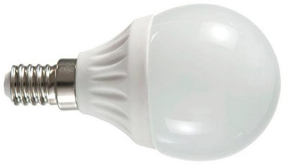 LED-Leuchtmittel 396 lm, E14, A+ - Weiß, KONVENTIONELL (4,5/8cm)