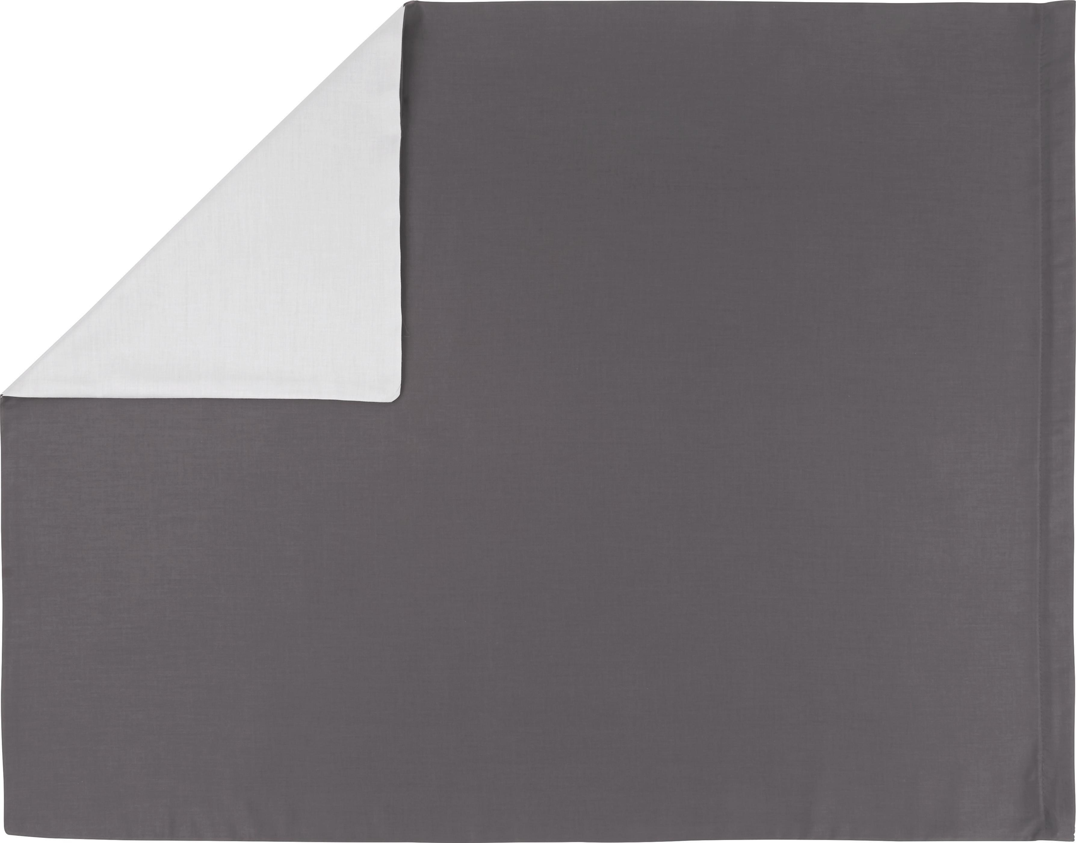 """Povlak Na Polštář """"belinda"""" - světle šedá/antracitová, textil (70/90cm) - PREMIUM LIVING"""