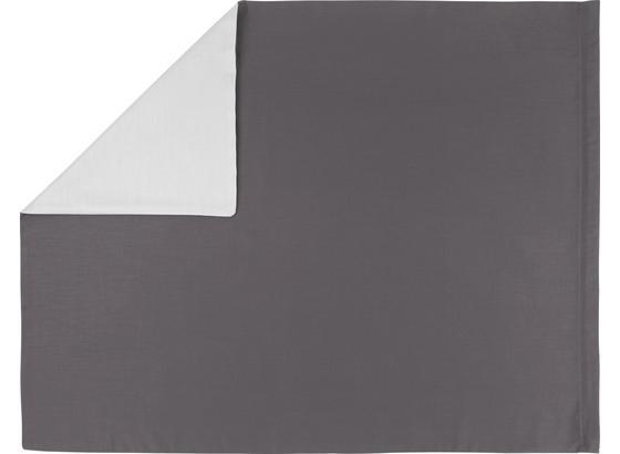 Povlak Na Polštář 'belinda' - světle šedá/antracitová, textil (70/90cm) - Premium Living