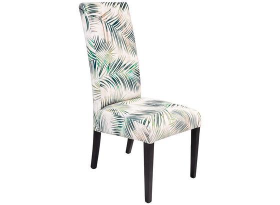 Stuhl Roko - Wengefarben/Multicolor, KONVENTIONELL, Holz/Textil (46/101/59,5cm) - Ombra