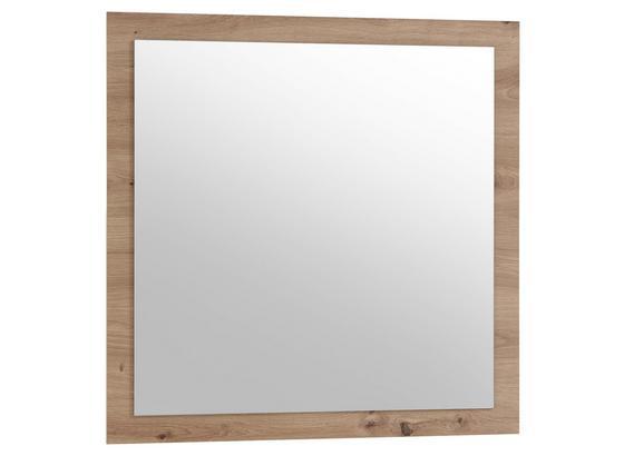 Spiegel Gomera B: 78 cm Eiche Dekor - Eichefarben, MODERN, Glas/Holzwerkstoff (78/78/2cm)