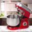 Küchenmaschine Km 3709 - Rot, MODERN, Kunststoff/Metall (36,6/29,9/21,5cm) - Clatronic