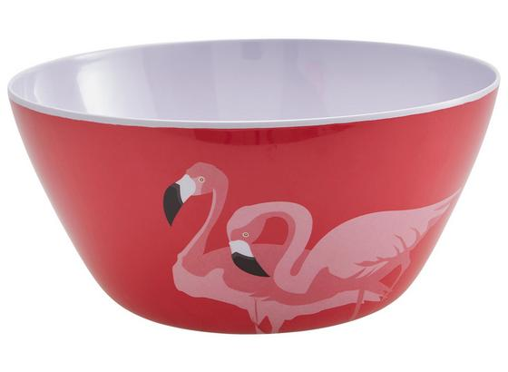 Mísa Na Salát Flamingo Couple - pink, Trend, umělá hmota (25,4/11,7cm) - Mömax modern living