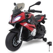Kindermotorrad Ride-On Bmw S1000xr Rot - Rot/Silberfarben, Basics, Kunststoff (103/55/68cm)