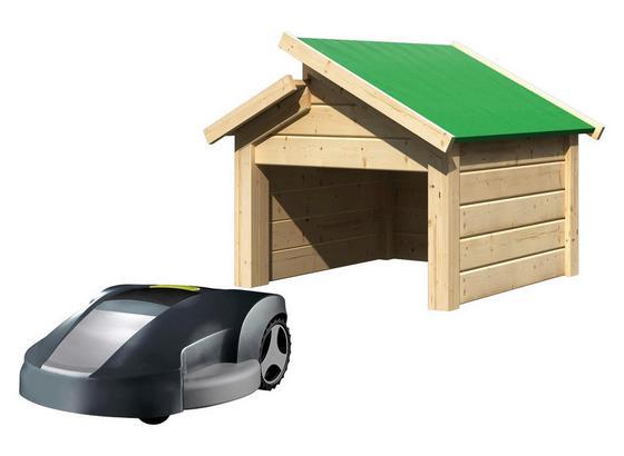 garage f r m hroboter stufendach natur online kaufen m belix. Black Bedroom Furniture Sets. Home Design Ideas