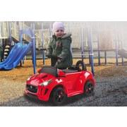 Kinderauto Ride-On Kiddy Jaguar Rot - Rot/Schwarz, Basics, Kunststoff (74,5/39/46cm)