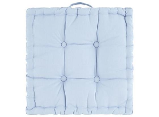 SEDÁK NA STOLIČKU NINIX - modrá, textil (40/40/10cm) - Mömax modern living