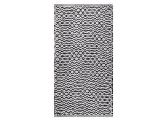 Ručné Tkaný Koberec Carola 1 - sivá, Basics, textil (60/120cm) - Mömax modern living