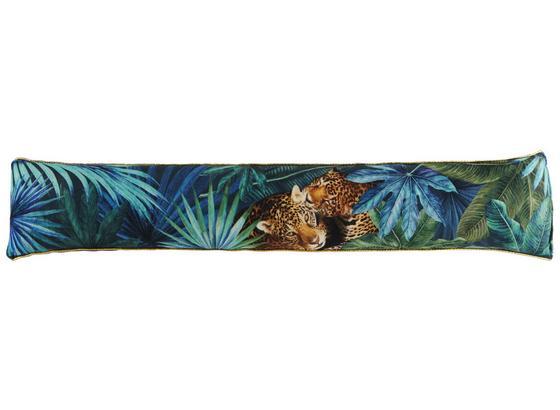 Zarážka Proti Průvanu Jungle - černá/zelená, Lifestyle, textil (15/85cm) - Mömax modern living