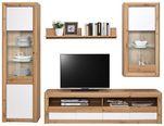 Doporučená Kombinace Kashmir New 4 - bílá/barvy dubu, Moderní, kompozitní dřevo (242/192/49cm) - James Wood