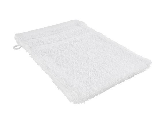 Rukavica Na Umývanie Melanie - biela, textil (16/21cm) - Mömax modern living