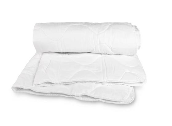 Steppdecke Eva - Weiß, KONVENTIONELL, Textil (200/200cm) - Primatex
