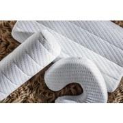 Šíjový Polštář Visco Deluxe -ext- - bílá, textil (15/40cm) - Premium Living