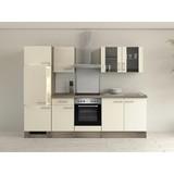 Küchenblock Eico 270 cm Magnolie - Eichefarben/Magnolie, MODERN, Holzwerkstoff (270/60cm)