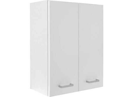 Závěsná Skříňka Fiola - bílá, Konvenční, kompozitní dřevo (50/60/21,6cm)