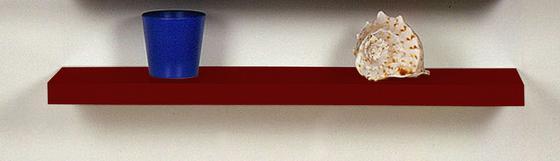 Police Nástěnná 100 Cm - červená, Moderní (100/4,4/24cm)