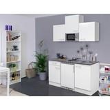 Küchenblock Lucca 150 cm Weiß - Weiß, KONVENTIONELL, Holzwerkstoff (150cm) - MID.YOU
