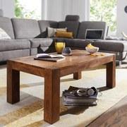 Couchtisch Holz Massiv Mumba, Sheesham - Sheeshamfarben, Design, Holz (110/60/40cm) - Livetastic