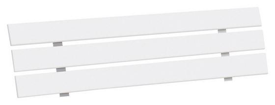 Záhlavie Belia - biela, Konvenčný, drevený materiál (180cm)