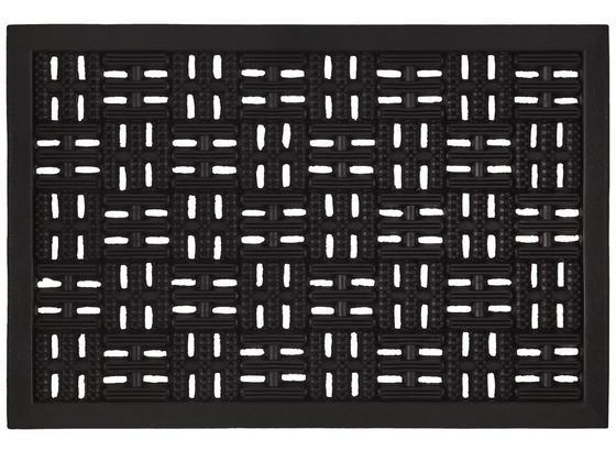 Rohožka Karo - čierna, Basics, plast (40/60cm) - Mömax modern living