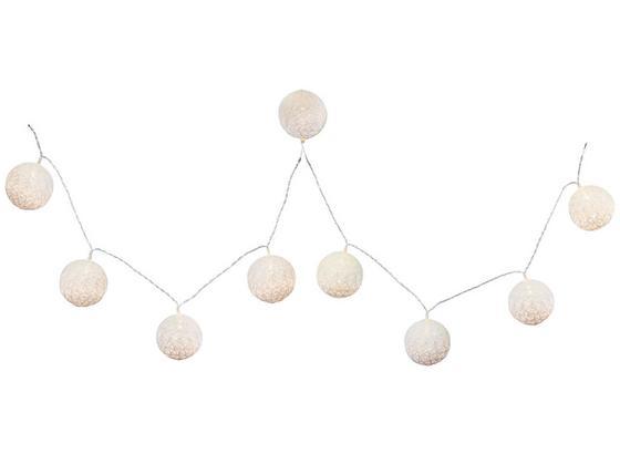 Svetelná Reťaz Schnurli Max. 0,06 Watt, 1,7m - biela, Romantický / Vidiecky, plast (6/170cm) - Mömax modern living