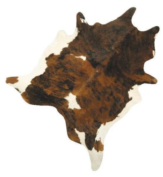 Kůže Hovězí Heino - černá/hnědá, textil (2-3qm) - Mömax modern living