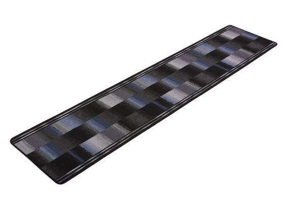 Futó Ikat - Antracit, Basics, Textil (67/300cm) - Ombra