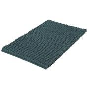 Badteppich Celine, 100x60cm - Dunkelgrün, Basics, Textil (100/60/4cm)