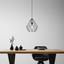 Závěsné Svítidlo Skeletton - černá, kov (30/110cm) - Mömax modern living