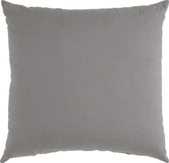 Dekoračný Vankúš Bigmex - antracitová, textil (60/60cm) - MÖMAX modern living