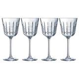 Weinglas 4er Pack, 35cl - Transparent, Design, Glas (350ml) - Mäser