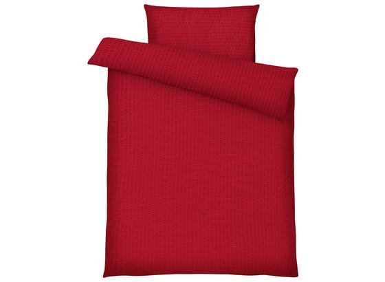 Posteľná Bielizeň Brigitte - červená, Konvenčný, textil (140/200cm) - Mömax modern living