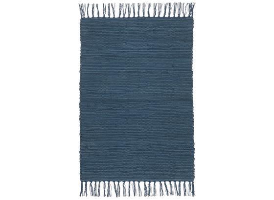 Hadrový Koberec Julia - tmavě modrá, Romantický / Rustikální, textil (70/230cm) - Mömax modern living