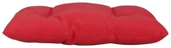 Sitzkissen Elli - Rot, KONVENTIONELL, Textil (38/38/6cm) - Ombra