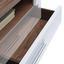 Tv Diel Avensis - farby dubu/biela, Moderný, kompozitné drevo (100/41,1/49,6cm) - Luca Bessoni