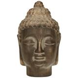 Buddha Afzal - Kupferfarben, KONVENTIONELL, Keramik (19/19/33cm)