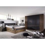 Komoda Bernau - šedá/barvy dubu, Moderní, dřevěný materiál (149/86/37cm)