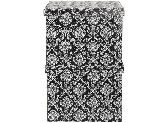 Box S Víkem Jimmy -ext- - černá, karton (42/32/32cm) - Mömax modern living