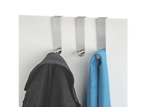 Šatní Háček Imma - barvy nerez oceli, Moderní, kov (13,5cm)