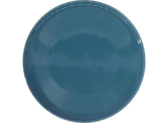 Talíř Dezertní Merit - petrolej, Moderní, keramika (20,8cm) - Premium Living