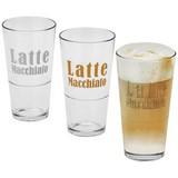 Latte-Macchiato-Glas Harald - Klar, MODERN, Glas (7,9/14,3cm) - Luca Bessoni