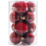 Christbaumkugel-Set Bella - Bordeaux, Basics, Glas - Ombra