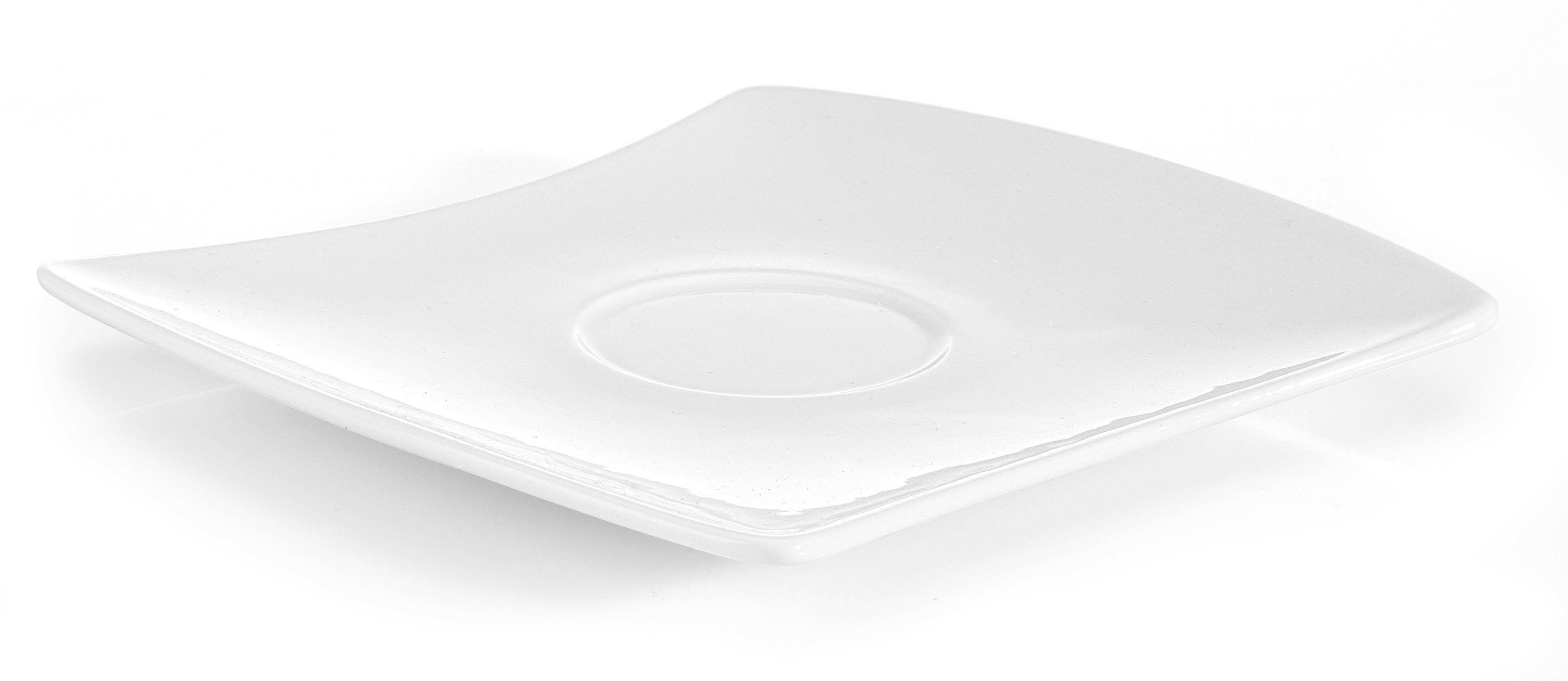 Podšálek Tacoma -top- - bílá, Lifestyle, keramika (16/2,2/14,6cm) - PREMIUM LIVING