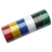 Klebeband 6 teilig - Blau/Gelb, KONVENTIONELL, Kunststoff (1,9cm)