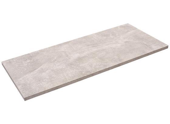 Police Nástěnná Skate 80/30 - šedá, Moderní, kompozitní dřevo (80/1,8/30cm)
