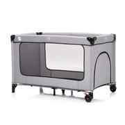 Reisebett Travel Cot Standard Melange Gr - Hellgrau, Basics, Kunststoff/Metall (60/120cm) - Fillikid