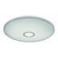 Led Stropní Svítidlo Ross - bílá/opál, Romantický / Rustikální, kov/umělá hmota (70/8cm) - Premium Living
