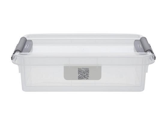 Uskladňovací Box Chaos - transparentné, Moderný, plast (21/14,2/5,7cm)