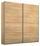 Schwebetürenschrank Belluno 181 cm Sonoma Eiche - Sonoma Eiche, MODERN, Holzwerkstoff (181/210/62cm)